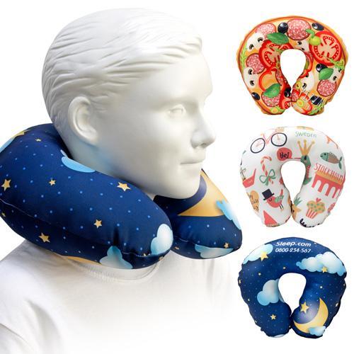 [客製化]  小尺寸全彩昇華熱轉頸枕 (無枕心內袋) 50個含印刷含版費S1-39006A-50