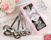 愛心量勺湯匙(10入) 可拆開使用 婚禮小物 送客禮 ht-0011