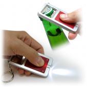【客製化】A90-3150-021 開瓶器手電筒鑰匙圈