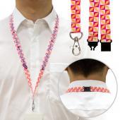 【客製化】A90-1130-093 毛氈布安全頸掛式織帶 1.5cm (全彩昇華熱轉印)