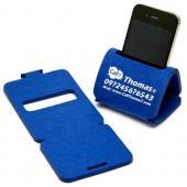 【客製化】A90-3150-052 桌上型毛氈布手機座 (小尺寸)